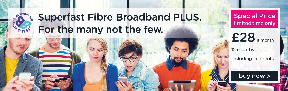 Superfast Fibre Broadband Plus