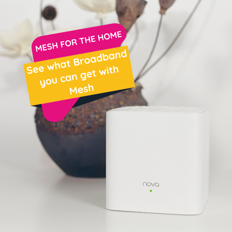 Wi-Fi Mesh for Home Residential Button v3