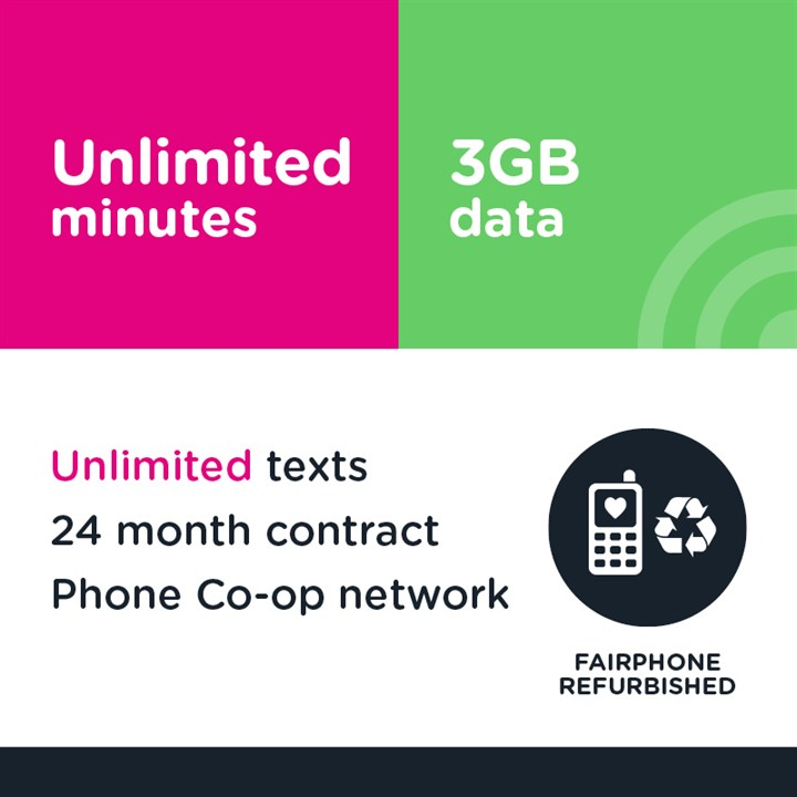 Unlimited minutes, unlimited texts and 3GB