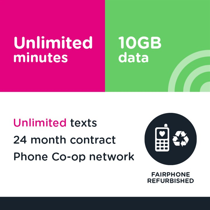 Unlimited minutes, unlimited texts and 10GB