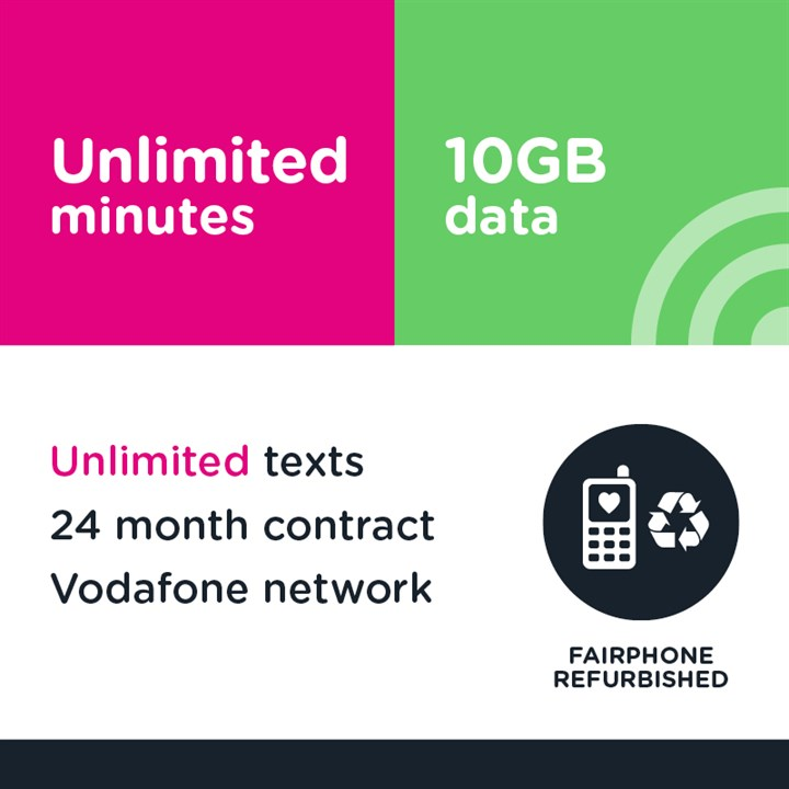 Unlimited minutes, unlimited texts and 10GB (Vodafone)