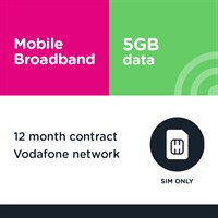 12m SIM only - Business MBB 5GB (Vodafone)
