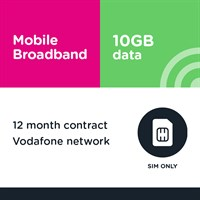 12m SIM only - Business MBB 10GB (Vodafone)